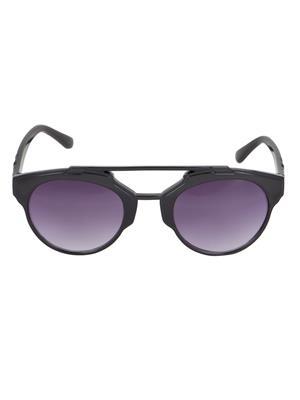 Adine  71204-Black Wayfarer Sunglasses
