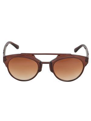 Adine  71204-Brown Wayfarer Sunglasses