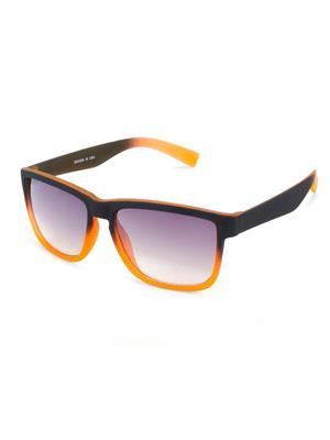 Rafa 714011-RBLKORNGRY1 Black Unisex Wayfarer Sunglasses