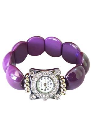 Shreya Collection 718.7 Purple Women Bracelet Watch