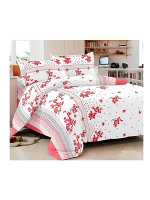 Luxe 7356RED Red Double Bedsheet