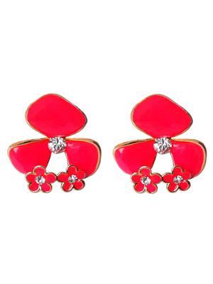 Shreya Collection 744-4 Pink Women Earring