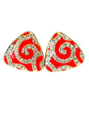 Shreya Collection 749.5  Red Stud Earrings