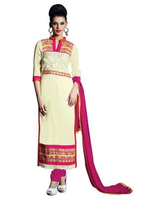 Sanchey 754342 Off-White Women Salwar Suit
