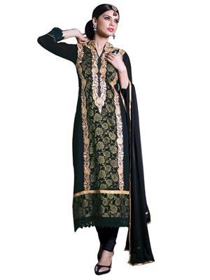 Sanchey 754344 Black Women Salwar Suit