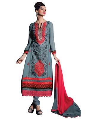 Sanchey 754347 Grey Women Salwar Suit