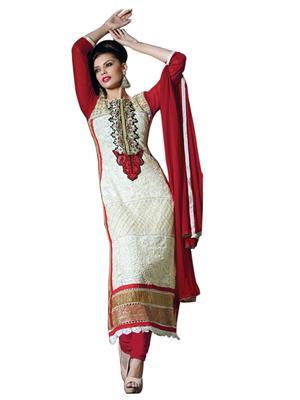 Sanchey 754348 Cream Women Salwar Suit
