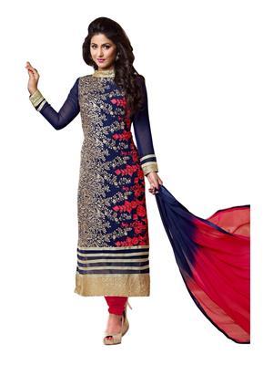Sanchey 754546 Blue Women Salwar Kameez