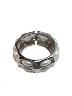 Shreya Collection 767 White-Silver Women Bracelet