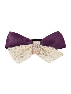 Fayon 76712 Purple Women Hair Rubber Bands