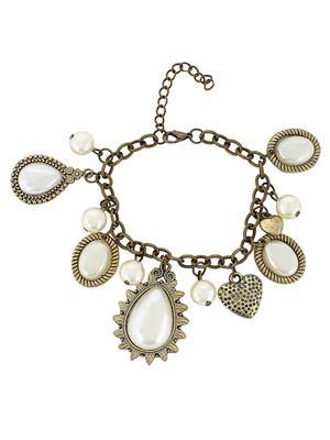Fayon 78001 Cream Women Pearl Bracelet