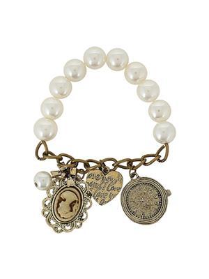 Fayon 78006 Antique Women Charm Bracelet