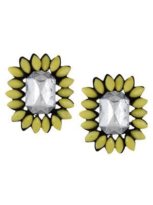 Fayon 79020 Green Party Style Diva  Women Stud Earring