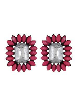 Fayon 79021 Pink Weekend Party  Women Stud Earring