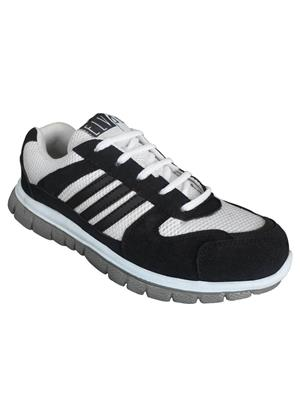 Elvace 8012 White-Black Men Sixers Sports Shoes