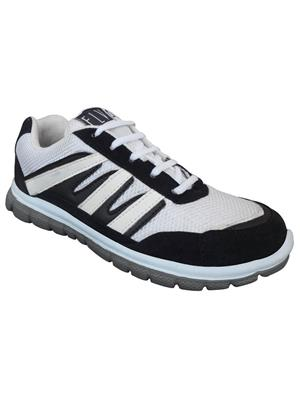 Elvace 8013 White-Black Men Walkers Sports Shoes