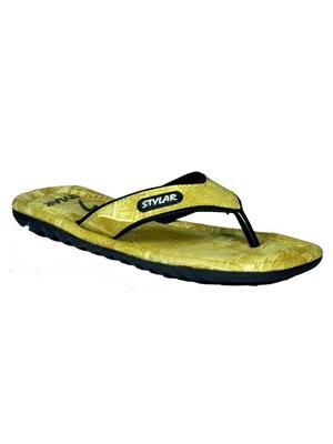 Stylar 806-2200 Green Men Flip Flops