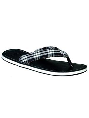 Stylar 808-1600 Black Men Flip Flops