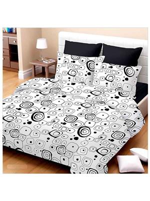 Luxe 8081BW Multicolor  Double Bed Sheets
