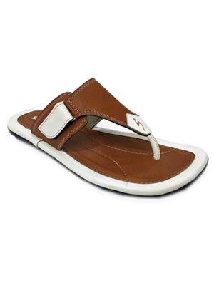 Stylar 809-4410 White Men Flip Flops