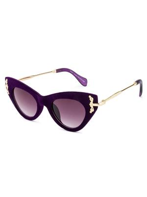 Rafa 81527PURP Purple Unisex Cateye Sunglasses