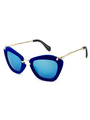 Rafa 81528BLUEMIR Blue Unisex Cateye Sunglasses