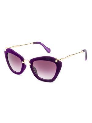 Rafa 81528PURP Purple Unisex Cateye Sunglasses
