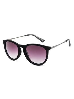 Rafa 81529BLKGUN Black Unisex Oval Sunglasses