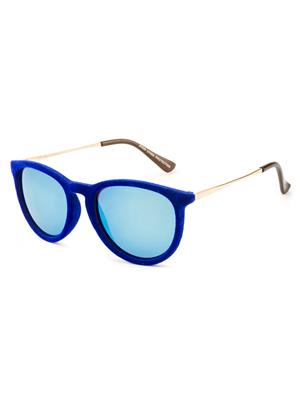 Rafa 81529BLUE Blue Unisex Oval Sunglasses