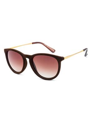 Rafa 81529BRN Brown Unisex Oval Sunglasses