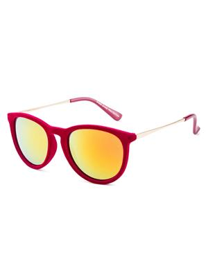 Rafa 81529REDMIRSMK Red Unisex Oval Sunglasses
