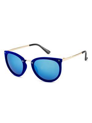 Rafa 81531BLUE Blue Unisex Round Sunglasses