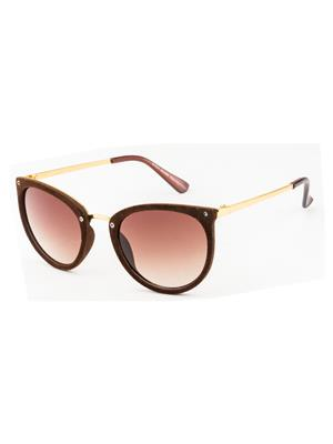 Rafa 81531BRN Brown Unisex Round Sunglasses