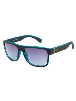 Rafa 81858BLKBLUGRY Black Unisex Wayfarer Sunglasses