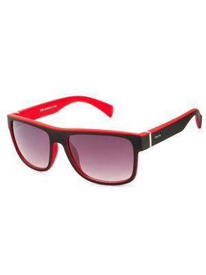 Rafa 81858BLKRDGRY Black Unisex Wayfarer Sunglasses