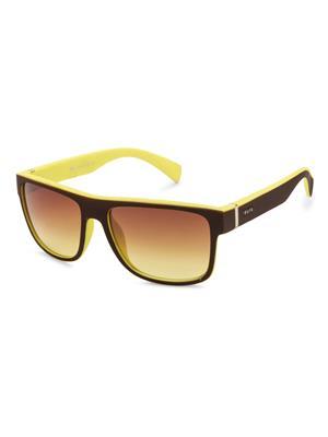 Rafa 81858BLKYELGRY Black Unisex Wayfarer Sunglasses