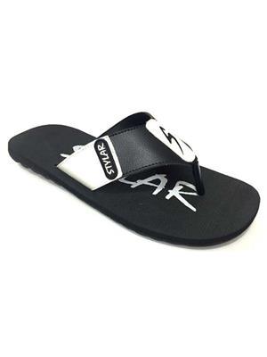 Stylar 820-1620 Black Men Flip Flops