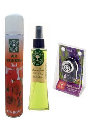 Aromatree 82tle3007510 Air freshener Car Perfume 10 Ml Set of 3