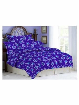 Celsuia 8512 -2 Blue Double Bedsheet