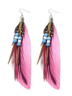 Shreya Collection 853-1 Pink Women Earring