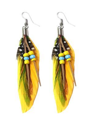 Shreya Collection 853-3 Yellow Women Earring