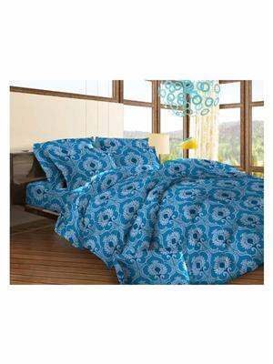 Celsuia 8567-2 Blue Double Bedsheet