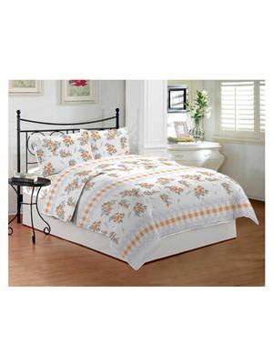 Celsuia 8568-2 Multicolor Double Bedsheet