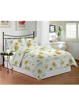 Bombay Dyeing Celsia8872 Yellow Bedsheet