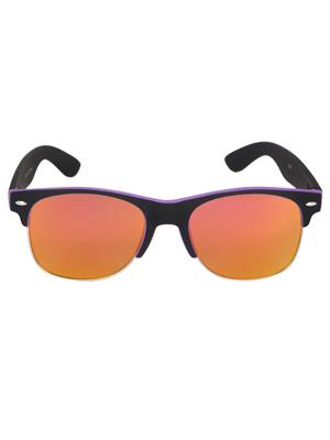 Adine  8895-Black-Purple Wayfarer Sunglasses