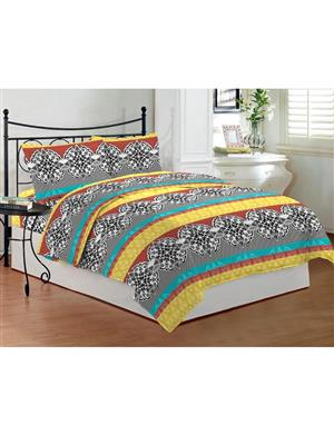 Bombay Dyeing Celsia8943 Yellow Bedsheet