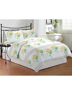 Bombay Dyeing Celsia8944 Yellow Bedsheet