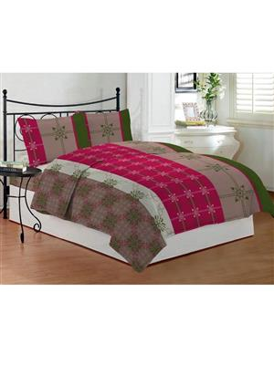 Bombay Dyeing Celsia8946 Red Bedsheet