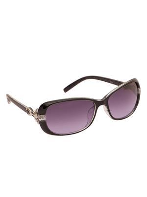 Adine 9016 White-Purple Women Oval