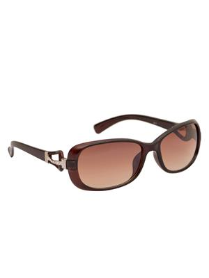 Adine 9017 Brown-Brown Women Oval